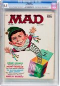Magazines:Mad, MAD #33 (EC, 1957) CGC VF+ 8.5 Cream to off-white pages....
