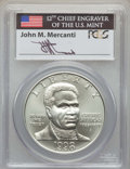 Modern Issues, 1998-S $1 Black Patriots Silver Dollar, Mercanti Signature MS70 PCGS. PCGS Population: (271). NGC Census: (329)....
