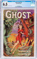 Golden Age (1938-1955):Horror, Ghost #1 (Fiction House, 1951) CGC FN+ 6.5 Off-white to whitepages....