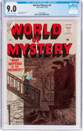 Golden Age (1938-1955):Horror, World of Mystery #4 (Atlas, 1956) CGC VF/NM 9.0 Off-white to whitepages....