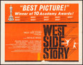 "Movie Posters:Academy Award Winners, West Side Story (United Artists, 1961). Half Sheet (22"" X 28""). Academy Award Style. Musical.. ..."