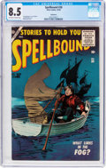 Silver Age (1956-1969):Horror, Spellbound #30 Bethlehem Pedigree (Atlas, 1956) CGC VF+ 8.5Off-white to white pages....