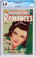 Golden Age (1938-1955):Romance, Revealing Romances #3 (Ace Magazines Inc., 1950) CGC GD/VG 3.0Off-white to white pages....