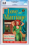 Golden Age (1938-1955):Romance, Love and Marriage #16 (Superior Comics, 1954) CGC GD/VG 3.0 Creamto off-white pages....