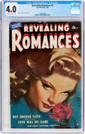 Golden Age (1938-1955):Romance, Revealing Romances #5 (Ace Magazines Inc., 1950) CGC VG 4.0Off-white to white pages....