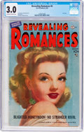 Golden Age (1938-1955):Romance, Revealing Romances #6 (Ace Magazines Inc., 1950) CGC GD/VG 3.0Off-white to white pages....