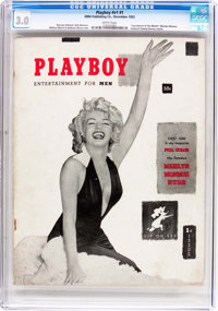 Playboy #1 (HMH Publishing, 1953) CGC GD/VG 3.0 White pages