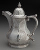 A William Gale & Son Coin Silver Coffee Pot, New York, New York, circa 1852 Marks: effaced W. CARRINGTON, efface...