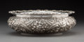 Silver Holloware, American:Bowls, An A.G. Schultz & Co. Silver Floral Repoussé Bowl, Baltimore,Maryland, circa 1900. Marks: (hand-MADE), STERLING. D.B.RYL...
