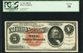 Large Size:Silver Certificates, Fr. 261 $5 1886 Silver Certificate PCGS Very Fine 30.. ...