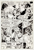 Original Comic Art:Panel Pages, Jim Aparo Brave and the Bold #149 Story Page 7 Batman andTeen Titans Original Art (DC, 1979)....