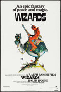 "Movie Posters:Animation, Wizards (20th Century Fox, 1977). One Sheet (27"" X 41"") Style A, William Stout Artwork. Animation.. ..."