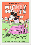 "Movie Posters:Animation, Barnyard Olympics (Circle Fine Art, R-1980s). Serigraphs (5) (21"" X30.75"") (Identical). Animation.. ... (Total: 5 Items)"