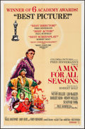 "Movie Posters:Academy Award Winners, A Man For All Seasons (Columbia, 1966). One Sheet (27"" X 41"")Academy Awards Style, Artwork by Howard Terpning. Academy Awar..."