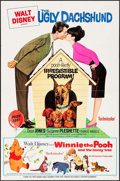 "Movie Posters:Comedy, The Ugly Dachshund (Buena Vista, 1966). One Sheet (27"" X 41"").Comedy.. ..."