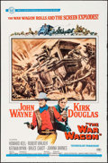 "Movie Posters:Western, The War Wagon (Universal, 1967). One Sheet (27"" X 41"") Howard Terpning Artwork. Western.. ..."