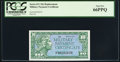 Military Payment Certificates:Series 611, Series 611 10¢ Replacement PCGS Gem New 66PPQ.. ...