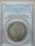 Bust Half Dollars, 1819/8 50C Large 9, O-103a, R.4, VF20 PCGS. PCGS Population: (2/17). NGC Census: (0/11). VF20. ...