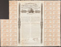 Confederate Notes:Group Lots, Ball 160 Cr. 119 £1,000/25,000 Francs/40,000 lbs. Cotton 1863Bond.. ...