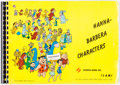 animation art:Model Sheet, Hanna-Barbera Characters Studio Animation Model Sheet Book(Hanna-Barbera, 1966)....