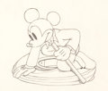 Animation Art:Production Drawing, Mickey's Service Station Mickey Mouse Animation Drawing(Walt Disney, 1935). ...