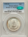 Commemorative Silver, 1950-D 50C Booker T. Washington MS66 PCGS. CAC. PCGS Population: (273/22). NGC Census: (130/17). CDN: $130 Whsle. Bid for p...