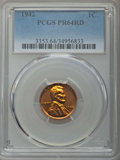 Proof Sets, Five-Piece 1942 Proof Set PR64 to PR66 PCGS. This Set will include the following: cent PR64 Red; nickel Type 1 PR66; d... (Total: 5 coins)