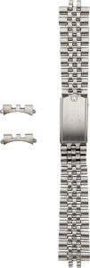 Timepieces:Other , Rolex Stainless Steel Jubilee Bracelet, 18 mm Endlinks. ... (Total:3 Items)