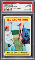 Baseball Cards:Singles (1960-1969), 1969 Topps Ted Shows How #539 PSA Gem Mint 10....
