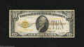 Small Size:Gold Certificates, Fr. 2400 $10 1928 Gold Certificate. Very Fine. The technical grade on this gold note is Very Fine or better but there is a ...