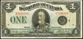 Canadian Currency, Canada Dominion of Canada DC-25o $1 1923.. ...
