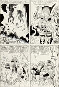 Original Comic Art:Panel Pages, Jack Kirby and Vince Colletta Journey Into Mystery Annual #1Story Page 13 Thor and Hercules Original Art (Marvel,...