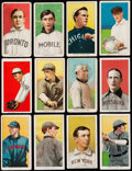 Baseball Cards:Lots, 1909-11 T206 Tobacco Collection (53) - Includes HOFers &Piedmont Coupon. . ...