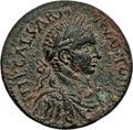 Ancients:Roman Provincial , Ancients: PHOENICIA. Sidon. Elagabalus (AD 218-222). AE 29mm (16.89gm). Choice XF....
