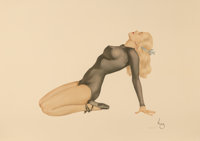 After Alberto Vargas (American, 1896-1982) The Varga Girl Print 26.25 x 36.5 in. (sheet) Ed. 4