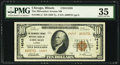 National Bank Notes:Illinois, Chicago, IL - $10 1929 Ty. 2 The Milwaukee Avenue NB Ch. # 14245. ...