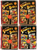 Golden Age (1938-1955):Religious, Picture Stories from the Bible Complete Old Testament Edition (EC, 1943)....