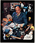 Animation Art:Photograph, Mel Blanc - Signed Photograph Print (Warner Brothers,1978/1985)....