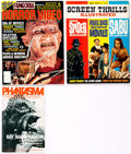 Magazines:Miscellaneous, Miscellaneous Film and Video Magazines Box Group (VariousPublishers, 1960s-2000s) Condition: Average FN/VF....