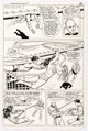 """Curt Swan and Dick Giordano Superman in """"The Computer Masters of Metropolis Story Page 29 Original Art"""