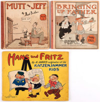 Platinum Age Group of 3 (Various Publishers, early 1900s) Condition: Average GD.... (Total: 3 Comic Books)