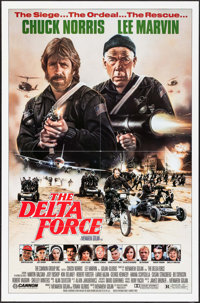 """The Delta Force & Others Lot (Cannon, 1986). One Sheets (3) (27"""" X 41"""") Stan Watts Artwork. Action. ... (T..."""