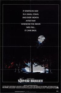 """Silver Bullet & Others Lot (Paramount, 1985). One Sheets (3) (27"""" X 40"""" & 27"""" X 41"""")..."""