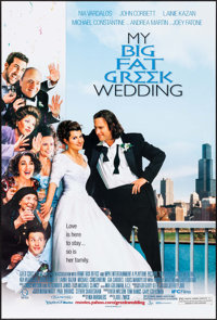 "My Big Fat Greek Wedding & Other Lot (IFC Films, 2002). One Sheets (2)(20"" X 40"" & 27"" X..."