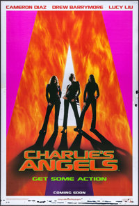 """Charlie's Angels (Columbia, 2000). Rolled, Very Fine/Near Mint. Mylar One Sheet (26.75"""" X 39.75"""") SS Advance..."""