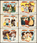 """Movie Posters:Sports, The Caddy (Paramount, 1953). Lobby Cards (6) (11"""" X 14""""). Sports.. ... (Total: 6 Items)"""