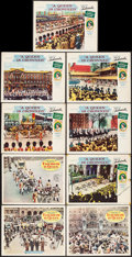 """Movie Posters:Documentary, A Queen is Crowned & Other Lot (Universal-International, 1953). Lobby Cards (6) & British Lobby Cards (3) (11"""" X 14""""). Docum... (Total: 9 Items)"""