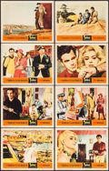 "Movie Posters:Foreign, Topkapi (United Artists, 1964). Lobby Card Set of 8 (11"" X 14""). Foreign.. ... (Total: 8 Items)"