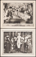 """Movie Posters:Comedy, The Singer Midgets Side Show & Other Lot (Fox, 1921). Lobby Cards (2) (11"""" X 14""""). Comedy.. ... (Total: 2 Items)"""