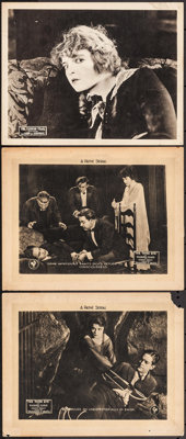 """The Third Eye & Other Lot (Pathé, 1920). Lobby Cards (3) (11"""" X 14"""") Episode 4 -- """"Daggers of..."""